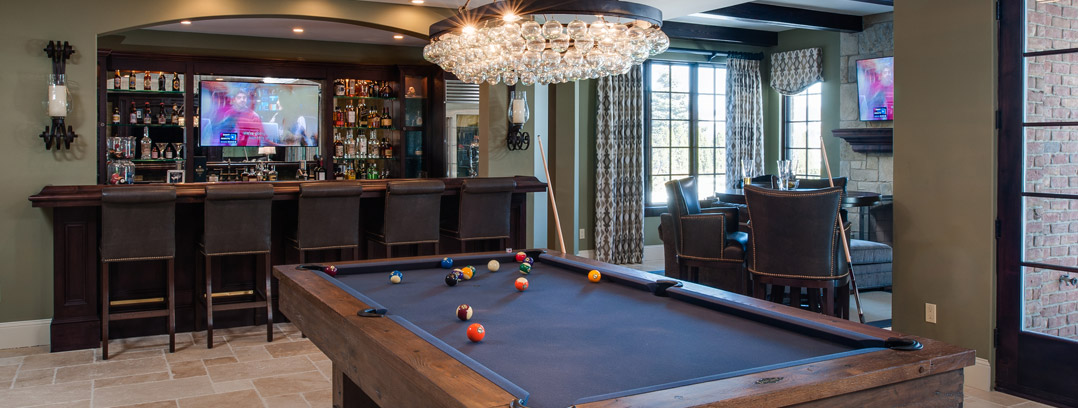 Lower Level-Game Rooms